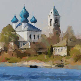 Yury Malkov - Church on River