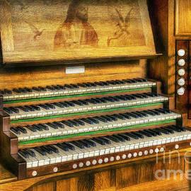 Ian Mitchell - Church Organ Art