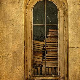 Priscilla Burgers - Church Window with Books