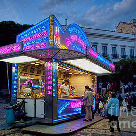 David Smith - Churros Stand with Neon Lights 1