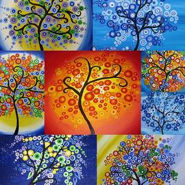 Cathy Jacobs - Circle Trees
