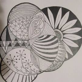 Sharon Duguay - Circles of Zen Tangle