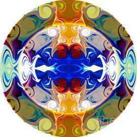 Omaste Witkowski - Circling Reality Abstract Circle Artwork by Omaste Witkowski