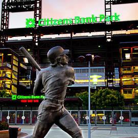 Bill Cannon - Citizens Bank Park - Mike Schmidt Statue