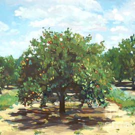 Blair Updike - Citrus Grove Overlooking Lake Moody