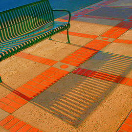 Ben and Raisa Gertsberg - City Bench Still Life