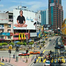 David Hill - City centre scene - Kuala Lumpur - Malaysia