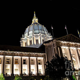 Jim Fitzpatrick - City Hall San Francisco at Night