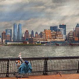 Mike Savad - City - Hoboken NJ - Fishing - The good life