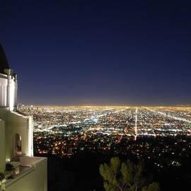 Robert Stewart - City Lights #la #losangeles #night #sky