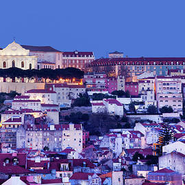 Artur Bogacki - City of Lisbon at Twilight in Portugal