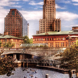 Mike Savad - City - Providence RI - The Skyline