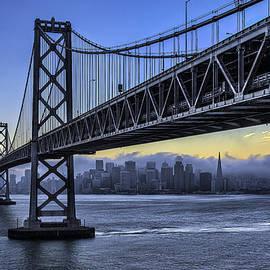 Peter Dang - City Skyline under the Bay Bridge