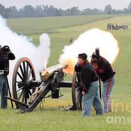 Dwight Cook - Canon firing