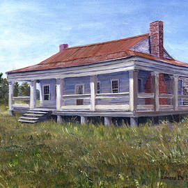 Lenora  De Lude - Civil War House Mansfield Louisiana