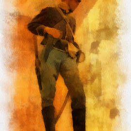 Thomas Woolworth - Civil War Soldier Photo Art