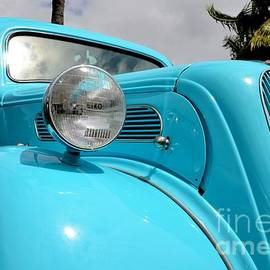 Mary Deal - Classic Anglia Front Fender View