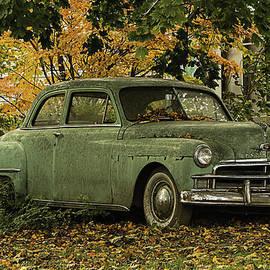 Betty Denise - Classic Green Plymouth Sedan