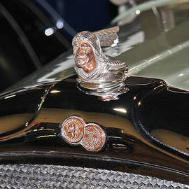 Jerry Cowart - Classic Vintage Pontiac 1930 Hood Ornament Car Fine Art Photography Print