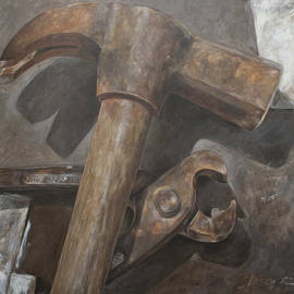 Anke Classen - Claw hammer and pliers