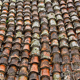 Alexandra Jordankova - Clay Tile Roof of a Greek Monastery
