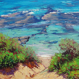 Graham Gercken - Clear waters Norah Head