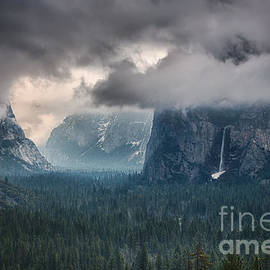 Michele Steffey - Clearing Winter Storm In Yosemite Valley I