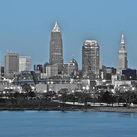 Frozen in Time Fine Art Photography - Cleveland in Selective Color