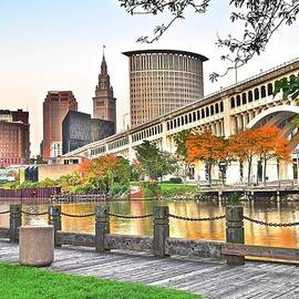 Frozen in Time Fine Art Photography - Cleveland Ohio Alongside the Cuyahoga