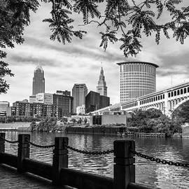 Dale Kincaid - Cleveland River Cityscape