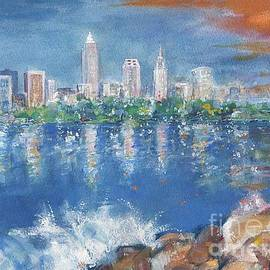 Mary Armstrong - Cleveland skyline