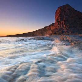 Milan Gonda - cliffs at Nash Point in Wales.
