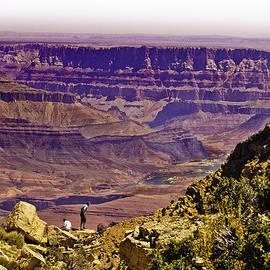 Bob and Nadine Johnston - Climbing in Grand Canyon