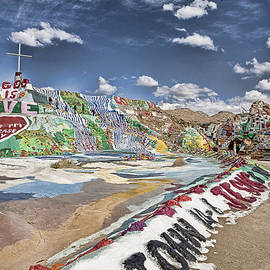 Hugh Smith - Climbing Salvation Mountain