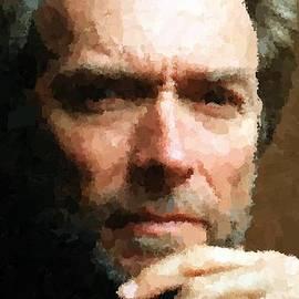 Samuel Majcen - Clint Eastwood Portrait