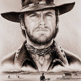 Andrew Read - Clint Eastwood The Stranger ye old west edit