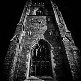 Brian Carson - Clock Tower Soldiers Tower University Of Toronto Campus