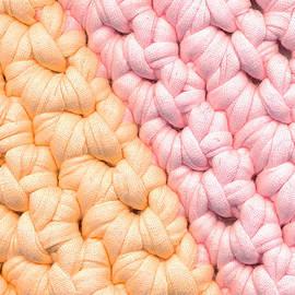 Kerstin Ivarsson - Closeup crochet rag rug