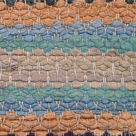 Kerstin Ivarsson - Closeup of old rag rug