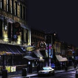 Barry Jones - Memphis - Night - Closing Time on Beale Street