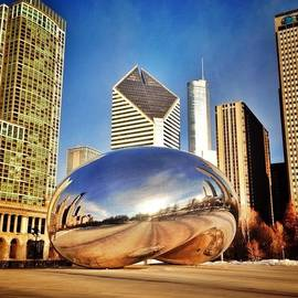 "Paul Velgos - Cloud Gate ""chicago Bean"" Sculpture"