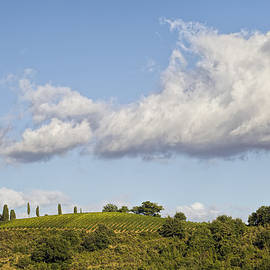 Clouds above Tuscany