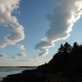 Bill Tomsa - Clouds Over Casco Bay