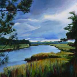 Sheila Diemert - Clouds Over Conestogo River