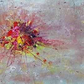 Julia Apostolova - Cloudy Monday Abstract Painting