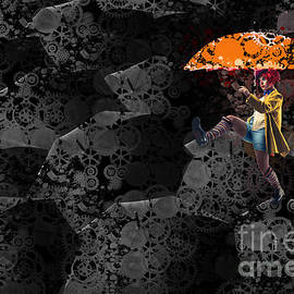 Variance Collections - Clowning on Umbrellas 02 -a10a