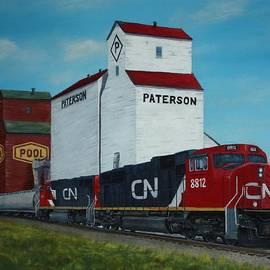Sid Ball - CN Train