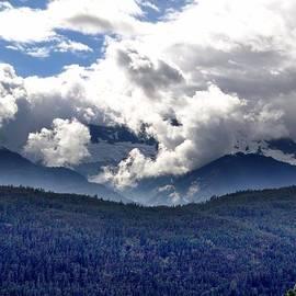 Janet Ashworth - Coast Mountains Near Howe Sound