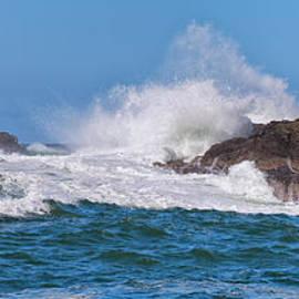 Allan Van Gasbeck - Coastal Pacific Wave Surge