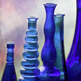 Sabrina L Ryan - Cobalt Blue Bottles